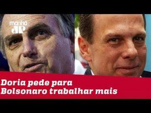 Doria e Bolsonaro disputam créditos de fábrica da Toyota de olho em 2022