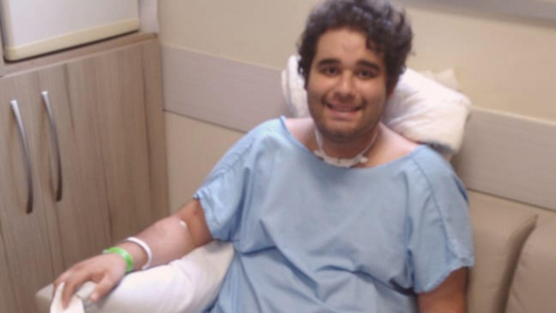 O professor de química Robert Gessner Junior é um dos casos de sucesso do tratamento em Curitiba. Foto: Acervo familiar