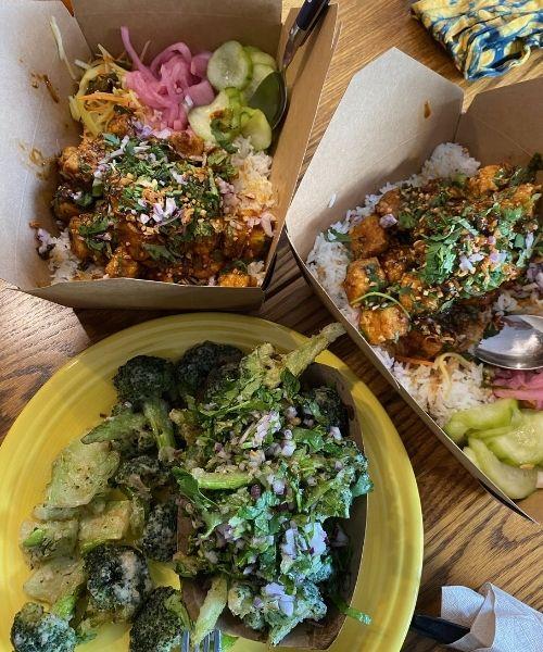 Os pratos feitos por Chu para a cliente idosa acamada. Foto: Reprodução/ Majically.com