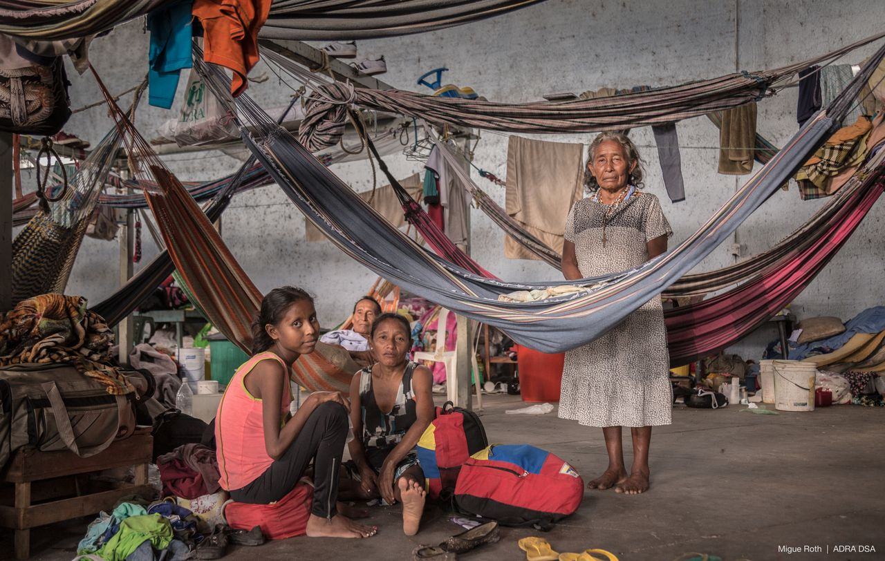 Os projetos direcionados a refugiados já ajudaram mais de 60 mil pessoas desde janeiro de 2020. Foto: Divulgação/Adra