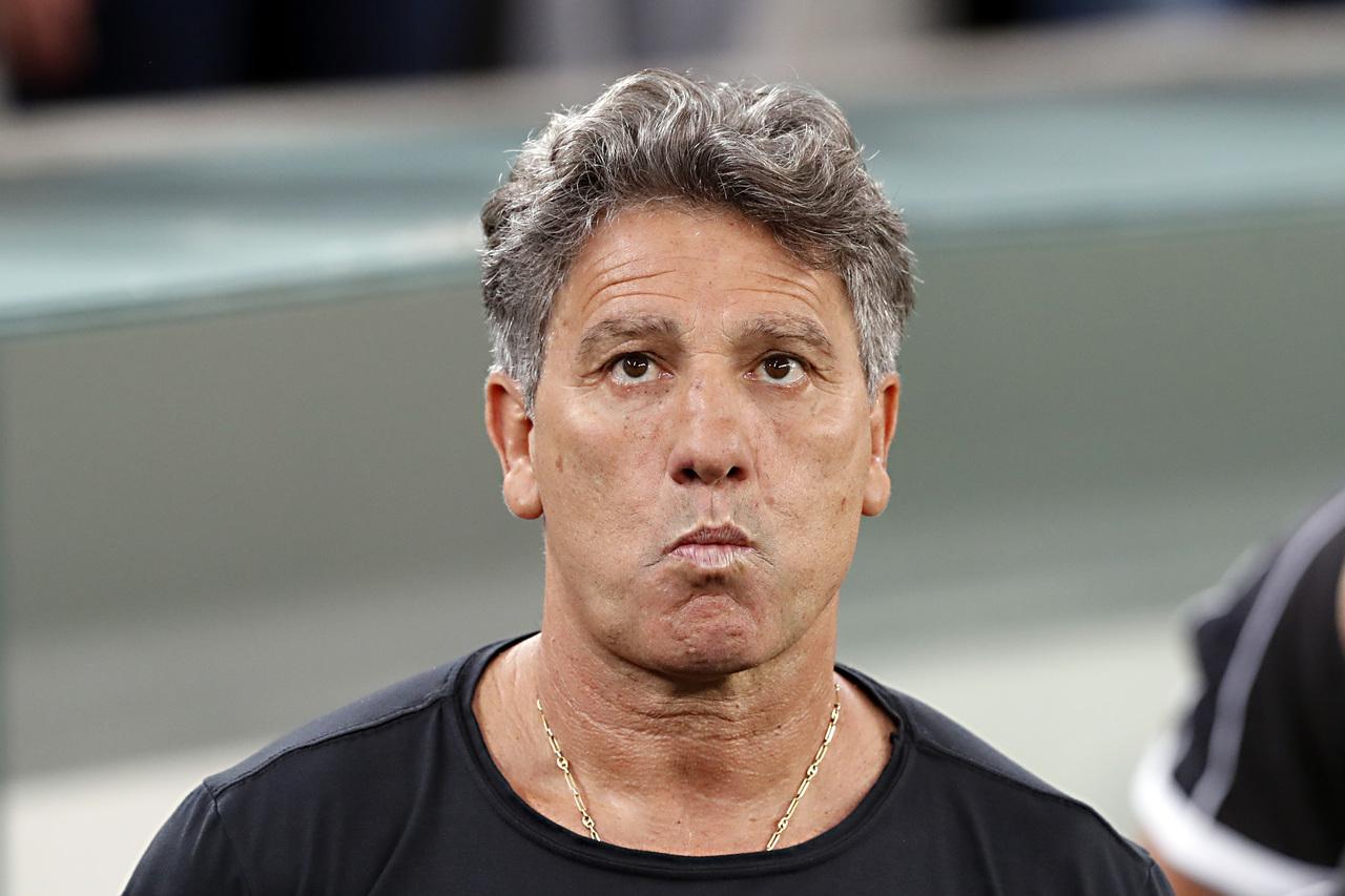 Renato Gaúcho (Grêmio) é o técnico mais longevo no Brasileirão. Foto: Albari Rosa/Foto Digital/UmDois Esportes.