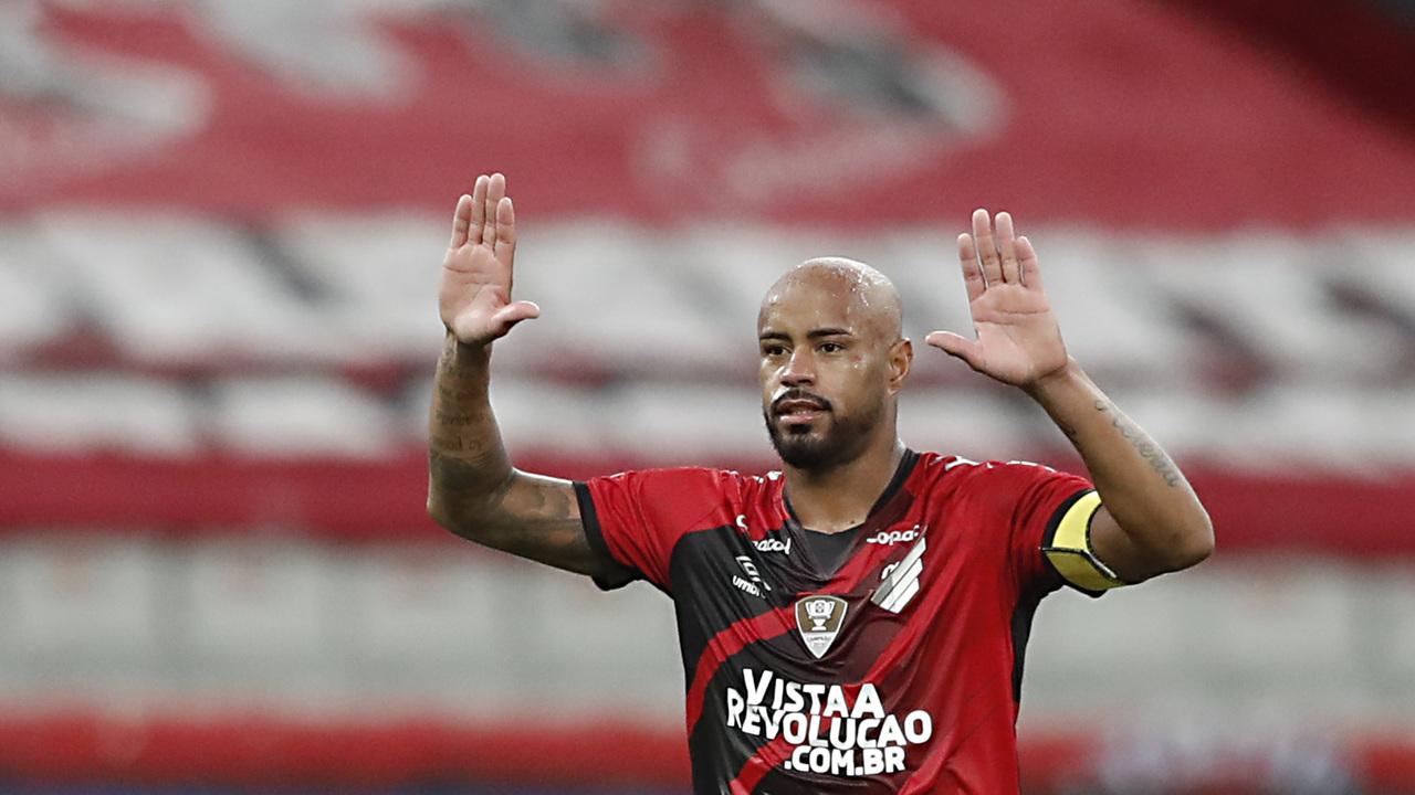 Thiago Heleno foi um monstro nas partidas contra o River. Foto: Albari Rosa/Foto Digital