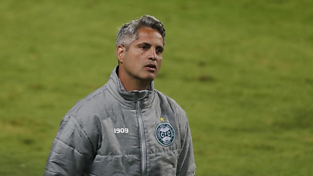 Rodrigo Santana foi demitido do Coritiba após revés para o Sport. Foto: Albari Rosa/Foto Digital/Gazeta do Povo