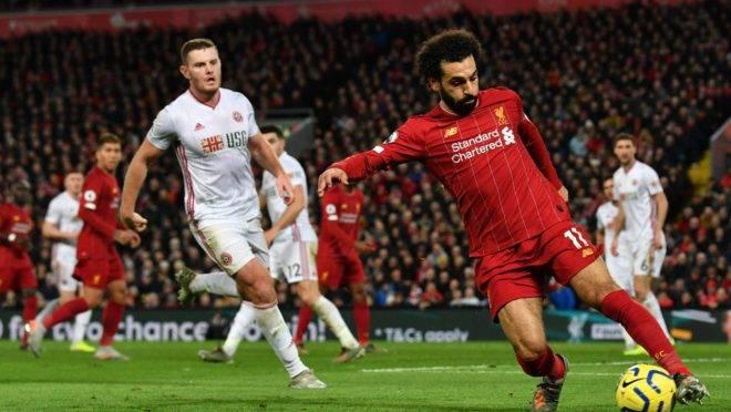 Liverpool estava a duas vitórias do título quando a Premier League foi suspensa. Foto: AFP