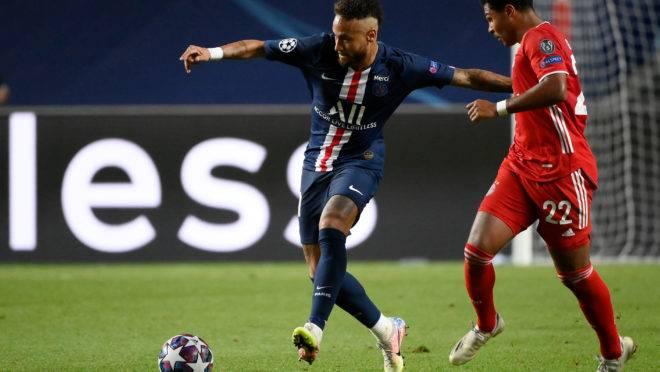 Liga dos Campeões marcou a retomada do futebol. Foto: AFP