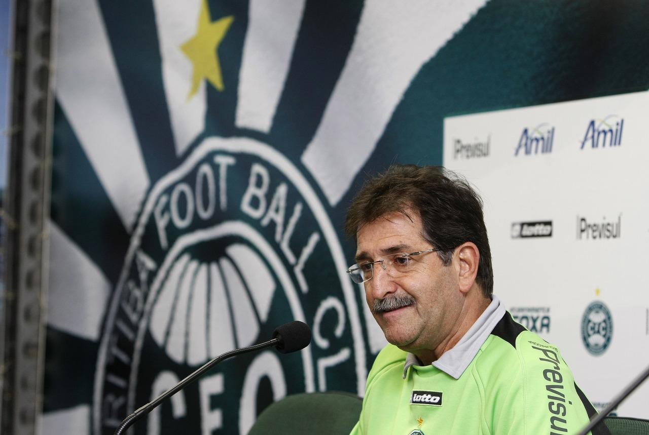 René Simões, ex-técnico do Coritiba. Foto: Arquivo/Gazeta do Povo.