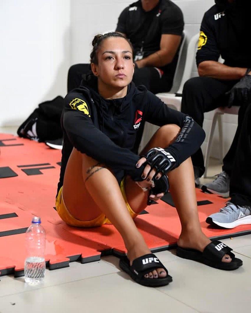 Amanda Ribas tem feito bonito no UFC. Foto: Reprodução/Instagram.