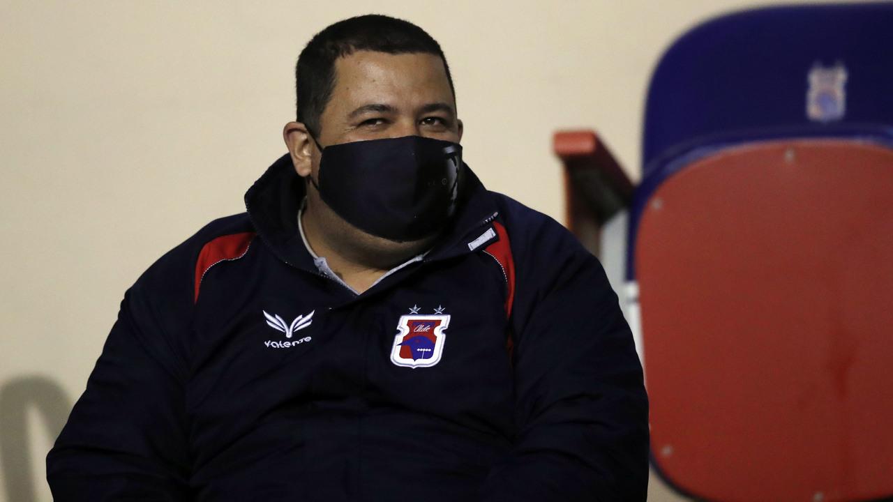 O presidente Leonardo Oliveira não se pronunciou mais sobre a crise do clube. Foto: Albari Rosa/Foto Digital/UmDois Esportes.