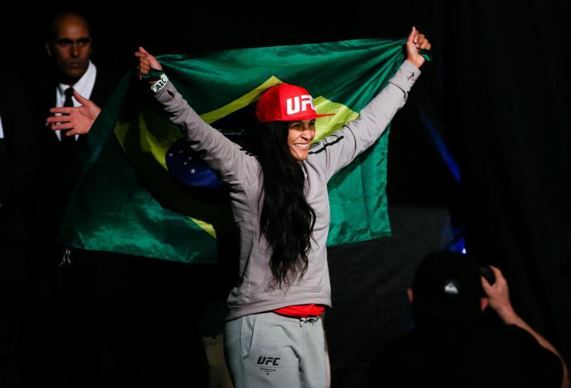 Vanessa Melo ainda busca a primeira vitória. Foto: Divulgação/UFC.