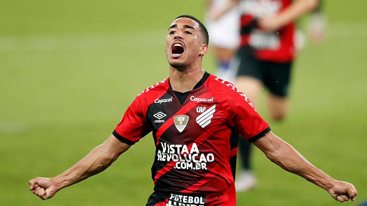 Christian comemora gol contra o Bahia no Brasileirão. Foto: Albari Rosa/Foto Digital/UmDois
