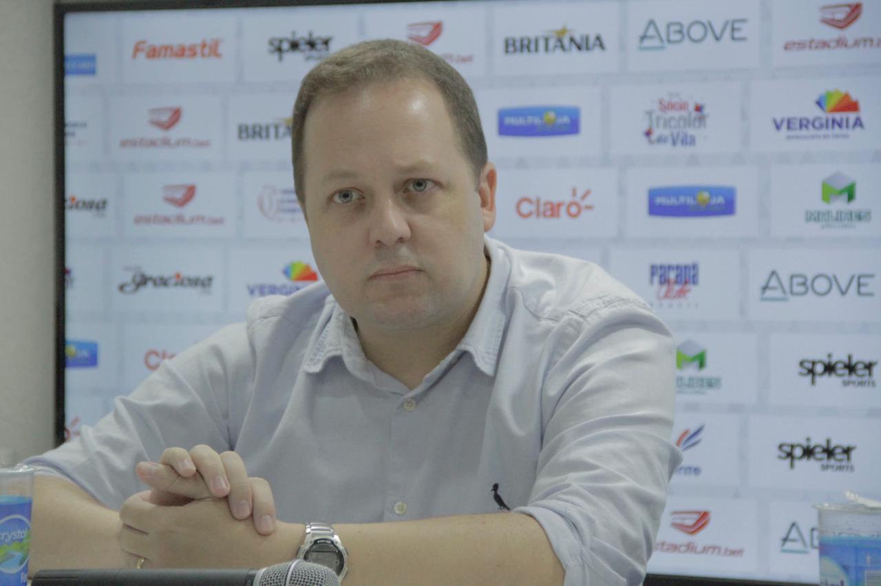 Moisés Von Ahn é o novo executivo de futebol do Paraná. Foto: Rui Santos/Paraná.