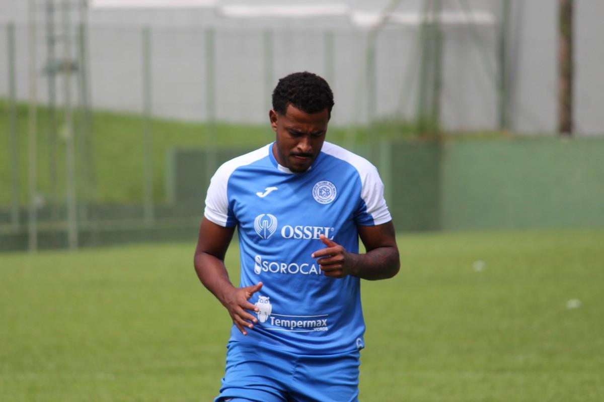 Allan Vieira disputou a última temporada pelo São Bento. Foto: Divulgação.
