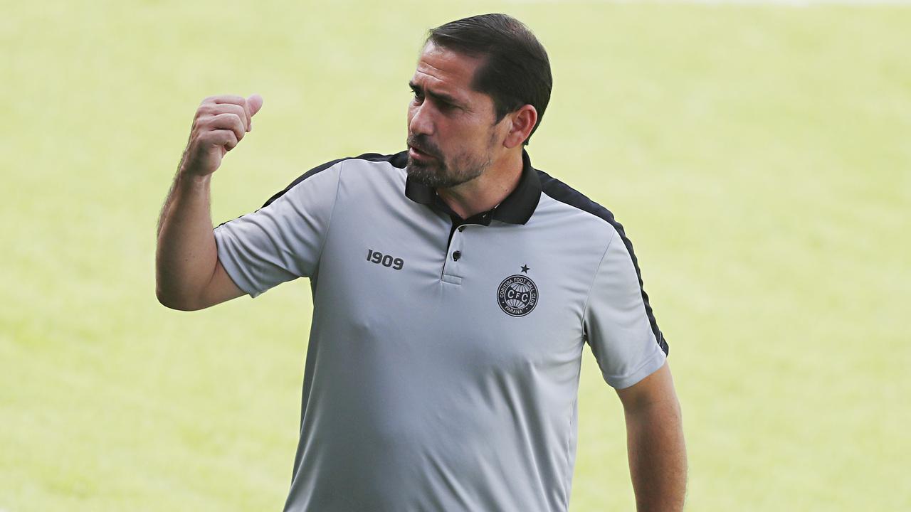 Morínigo chegou e mudou a forma do Coritiba jogar. Foto: Albari Rosa/Foto Digital/UmDois Esportes