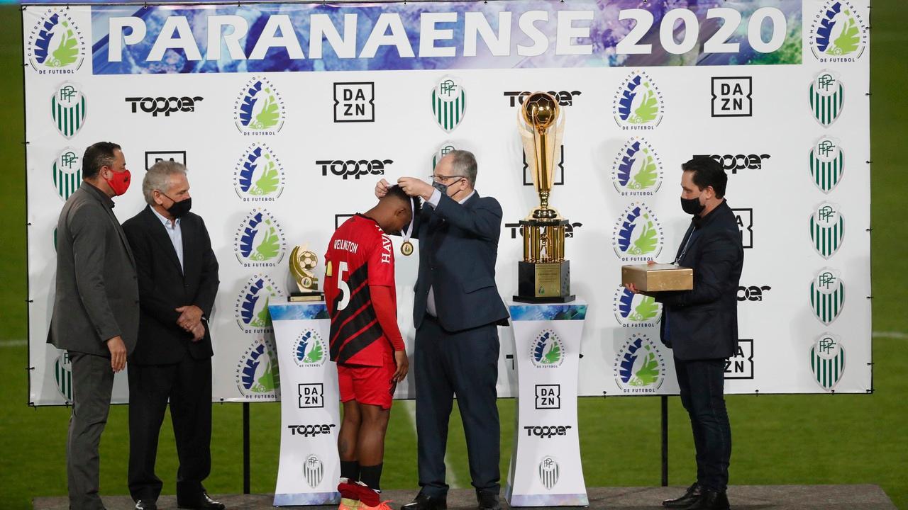 Athletico conquistou o tri em 2020. Foto: Albari Rosa/Foto Digital/UmDois