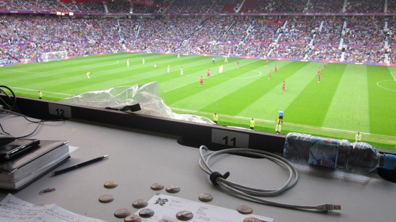 O United de volta ao Old Trafford. Arquivo pessoal