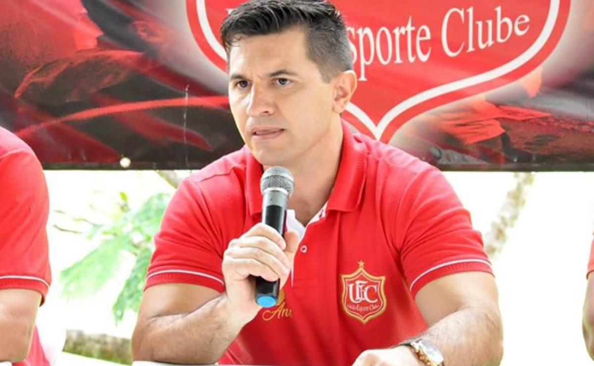 Edicarlos Oleguini, presidente do União Rondonópolis