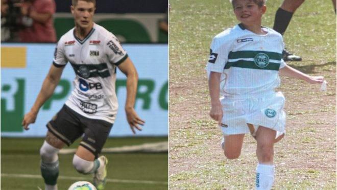 Henrique Vermudt está no Coritiba desde os nove anos