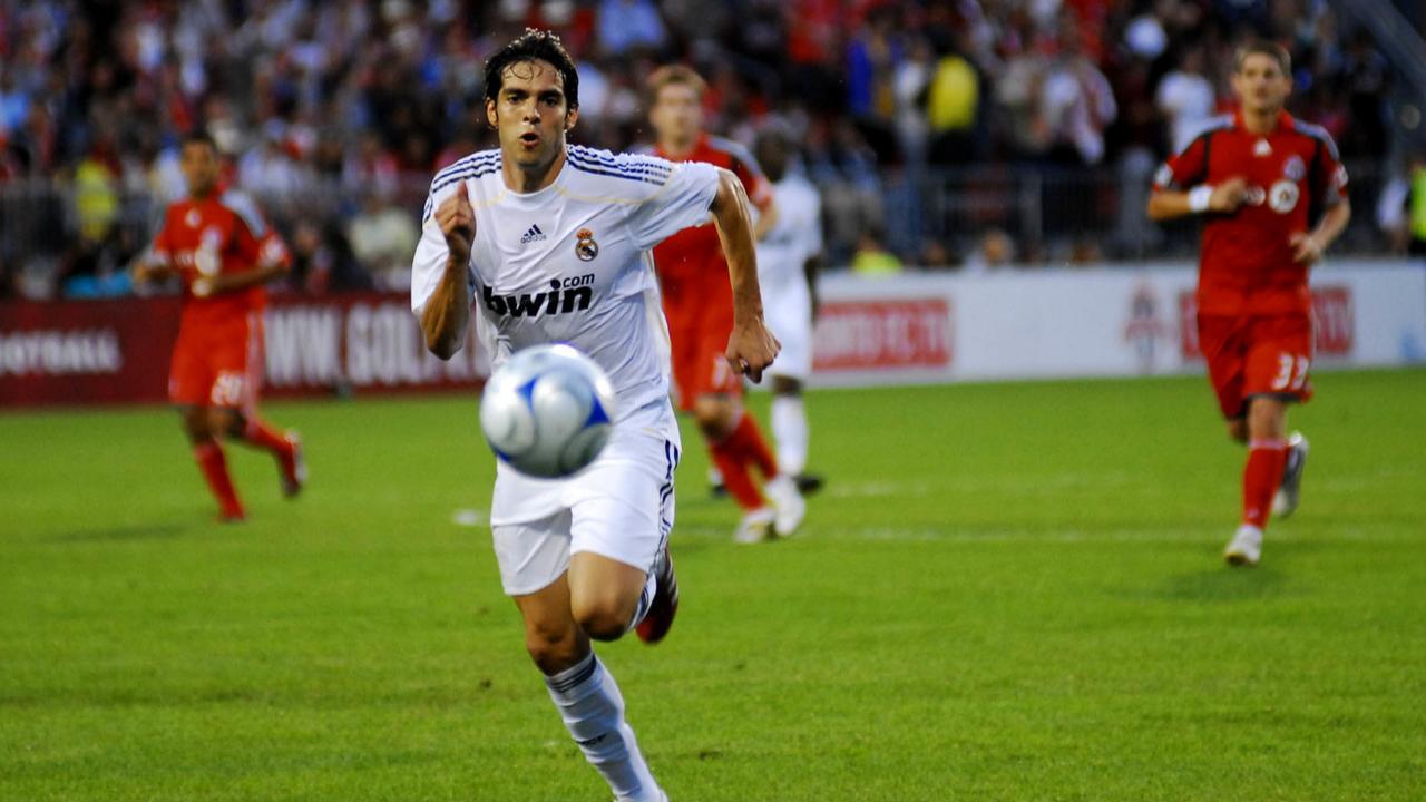 Após deixar o Milan, Kaká ainda jogou no Real Madrid. Foto: Agência Estado