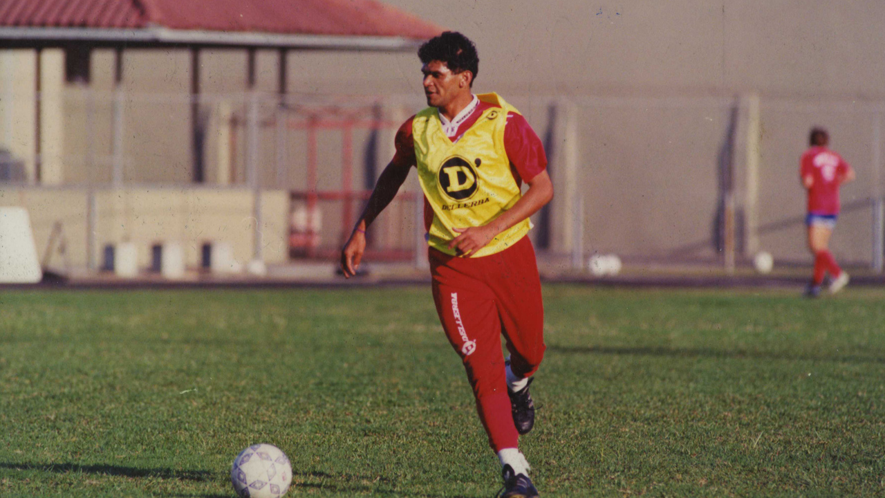 Edinho Baiano treina na Vila Capanema. Foto: Antonio Costa/Gazeta do Povo