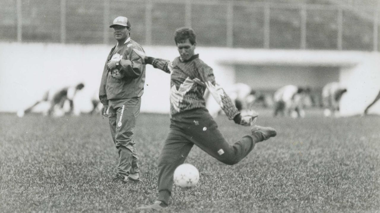 Régis treina no Paraná em 95. Foto: Edson Silva/Gazeta do Povo