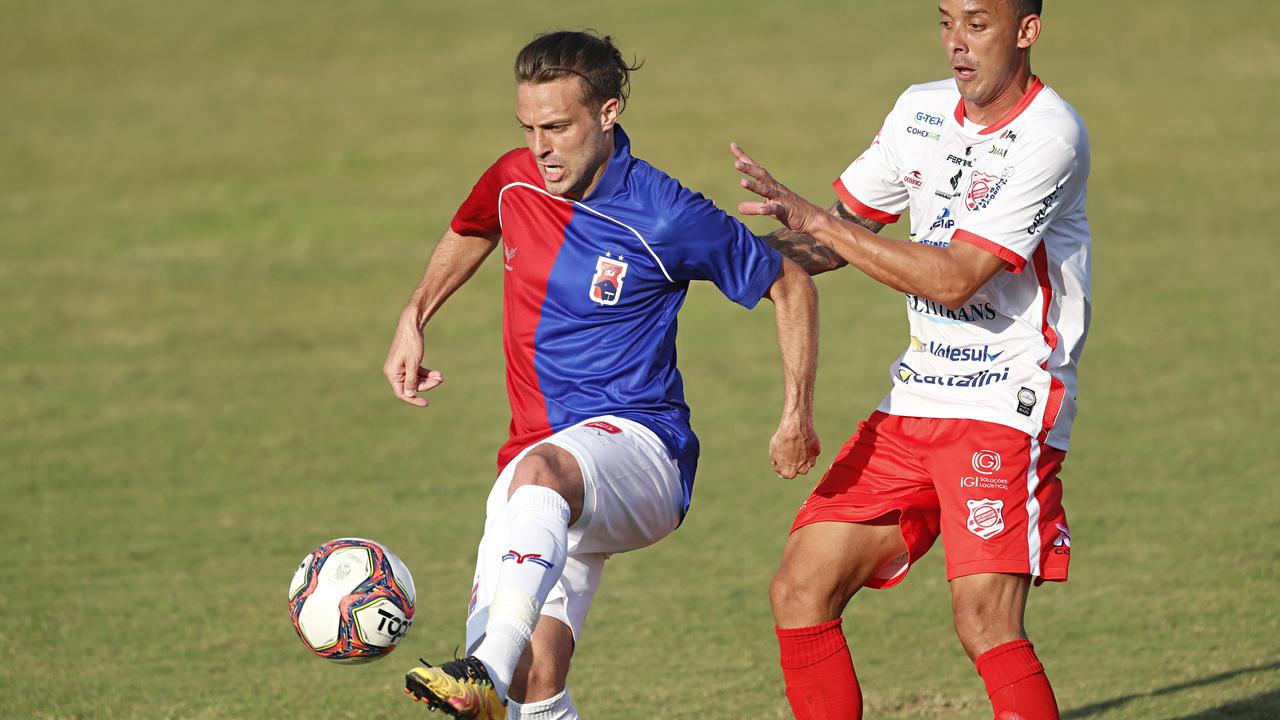 Maxi Rodríguez será peça fundamental na Série C. Foto: Albari Rosa/Foto Digital/UmDois Esportes.