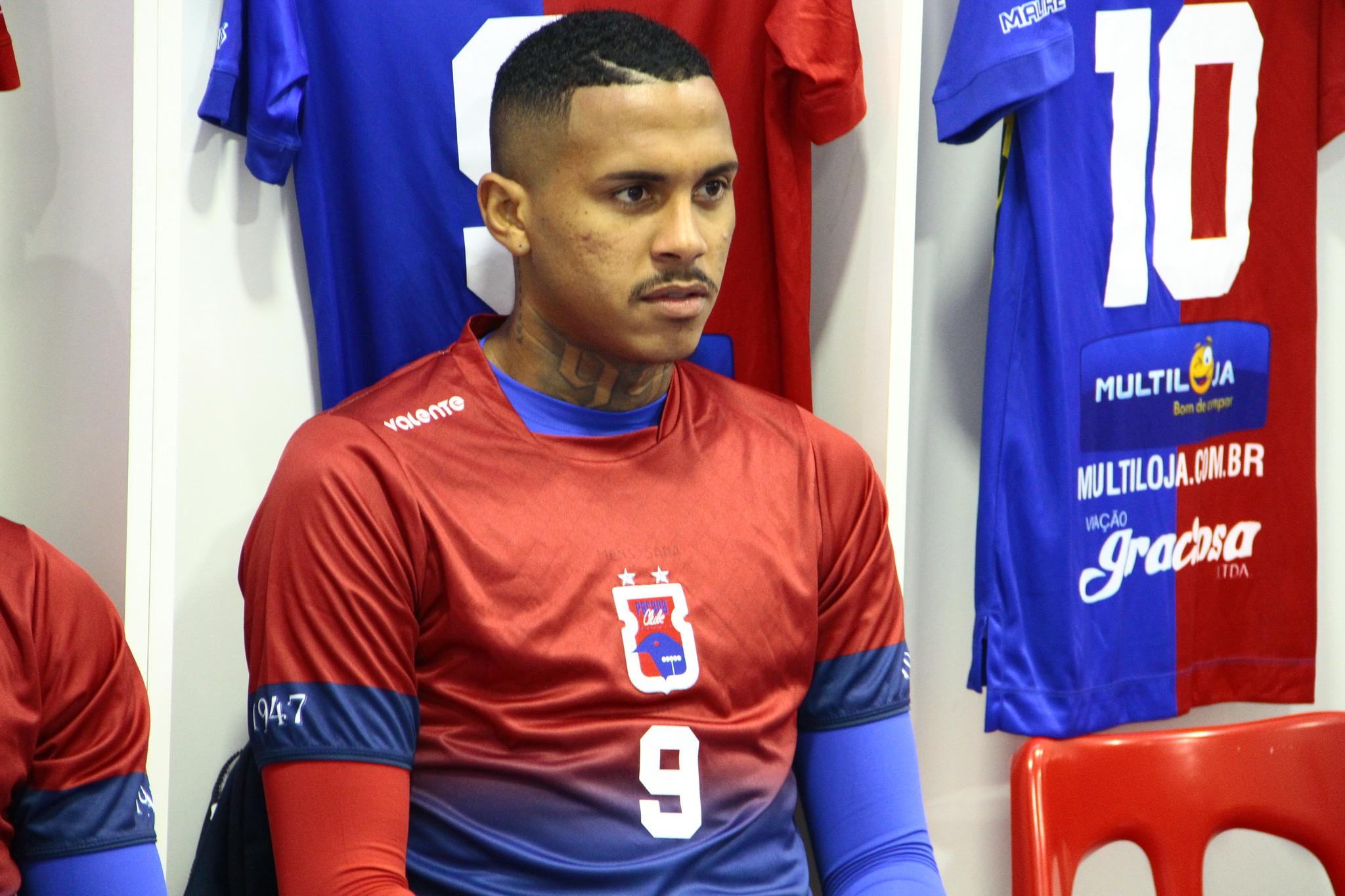 Da Silva marcou apenas um gol pelo Paraná. Foto: Allexandre Fellipe/Paraná Clube.