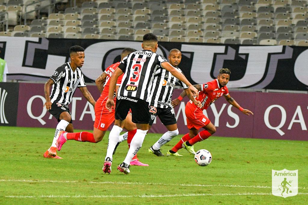 América de Cali perdeu os dois jogos para o Atlético-MG na fase de grupos da Libertadores