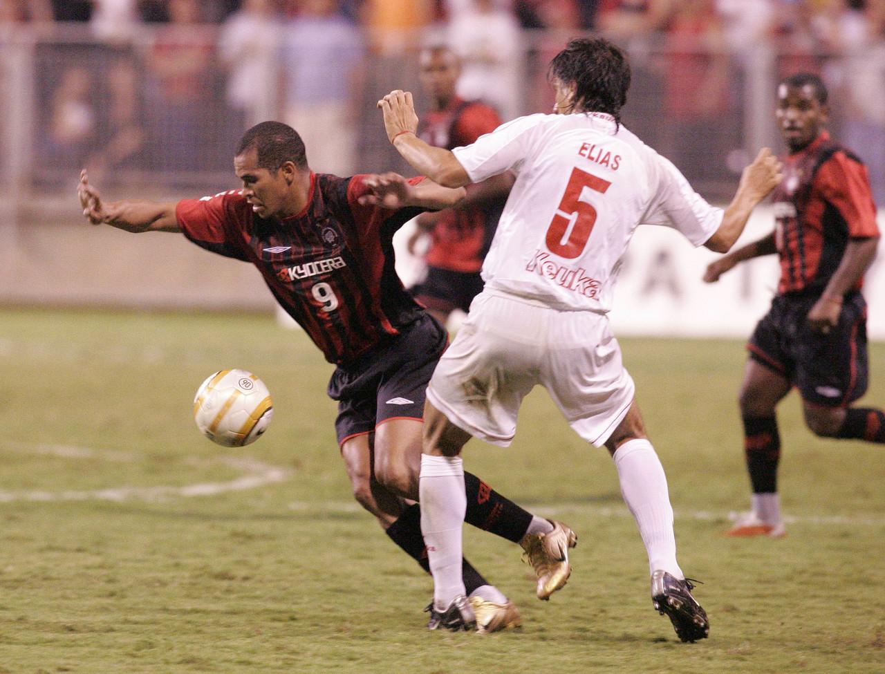 Jogo do Athletico contra o América de Cali pela Libertadores 2005