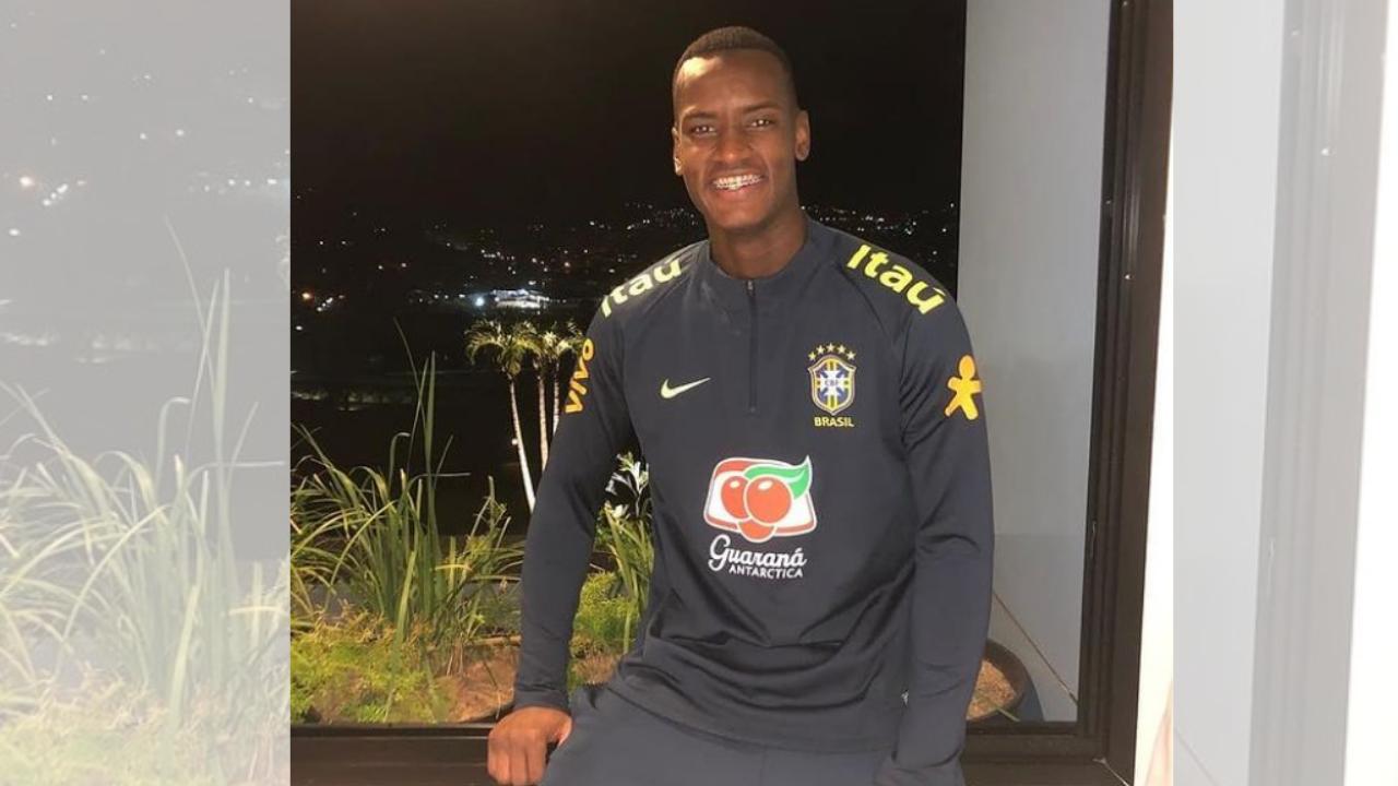 Goleiro Rafael William foi convocado em maio de 2019 para a seleção brasileira