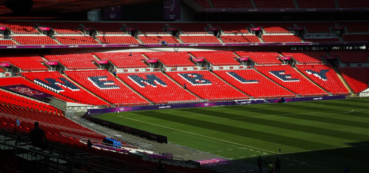 Wembley receberá a final da Euro. Foto: Arquivo/Gazeta do Povo
