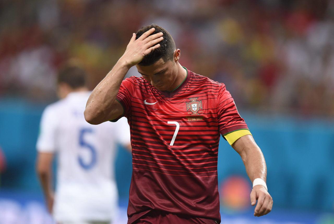 Cristiano Ronaldo, astro de Portugal. Foto: Arquivo/Gazeta do Povo