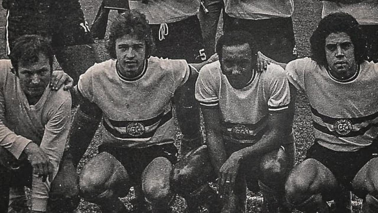 Renato Follador, o segundo, da esquerda para a direita. Divulgação/Coritiba