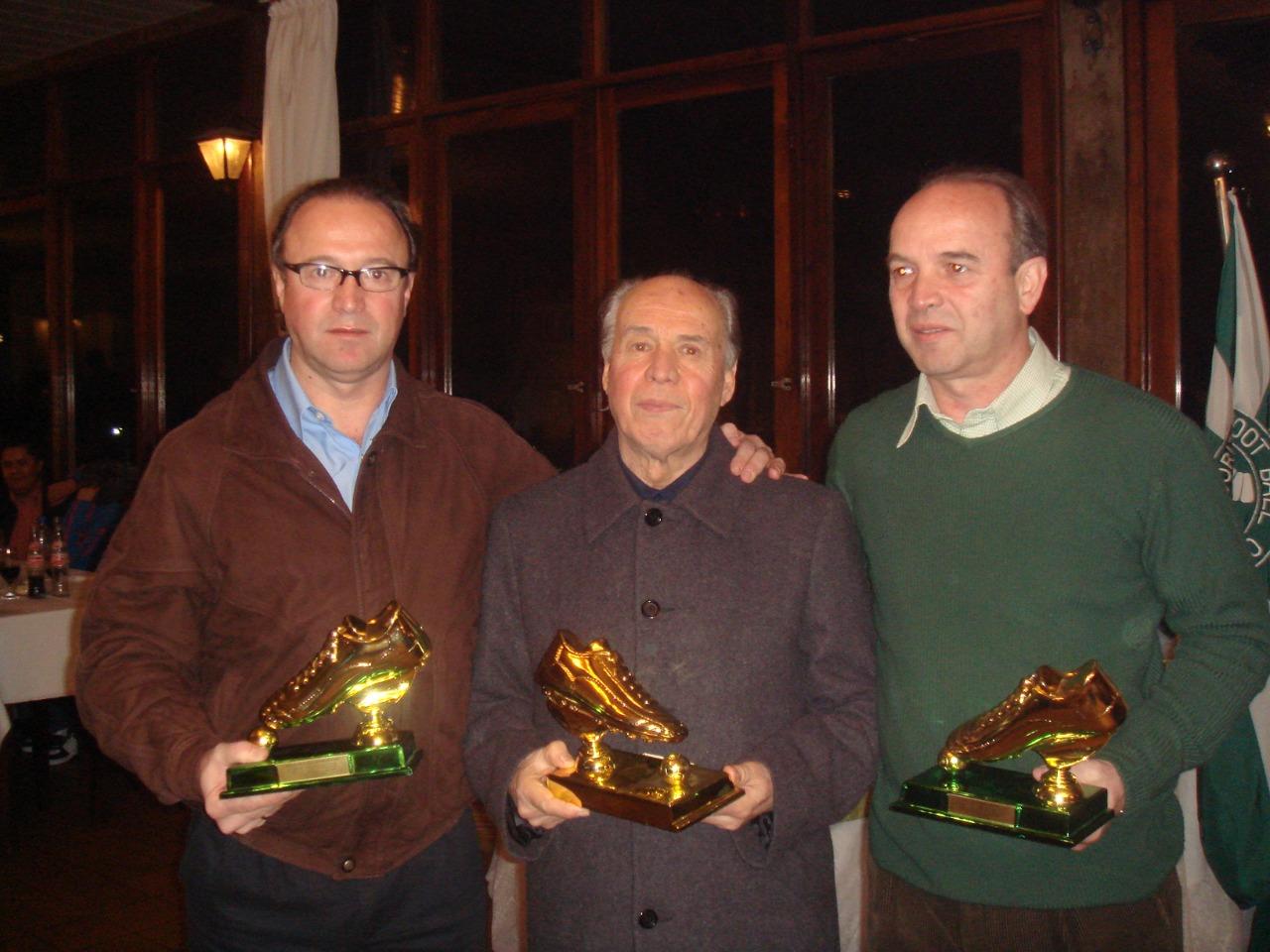Renato, o pai e o irmão, Paulo. Arquivo Pessoal