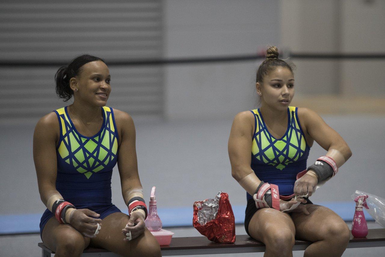 Essa será a segunda Olimpíada de Rebeca Andrade e Flávia Saraiva.
