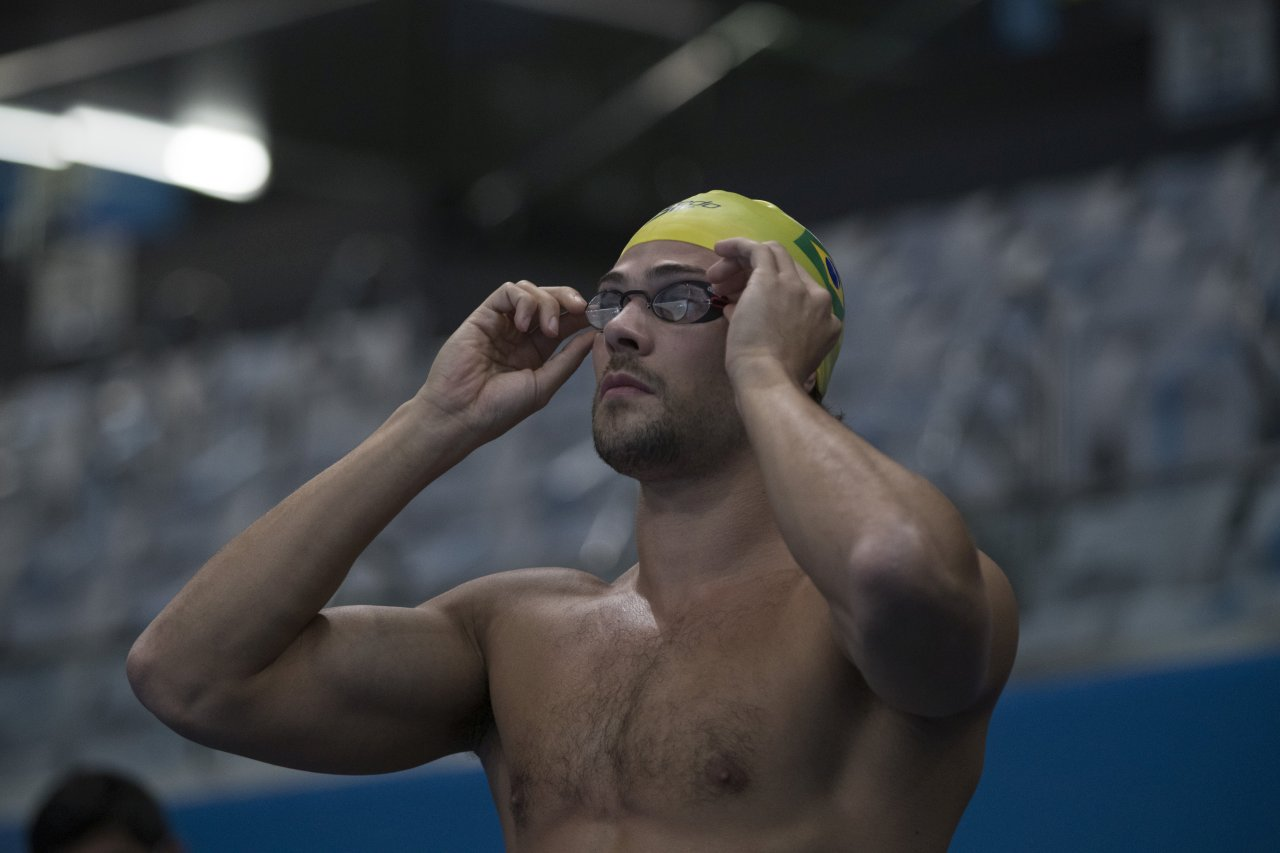 Marcelo Chierighini é o principal nome da equipe brasileira.