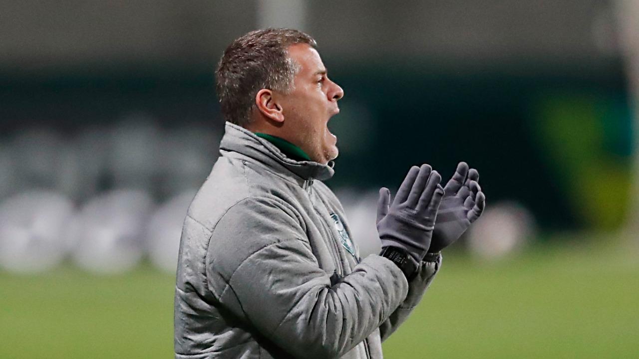 Júlio Sérgio, auxiliar-técnico do Coritiba