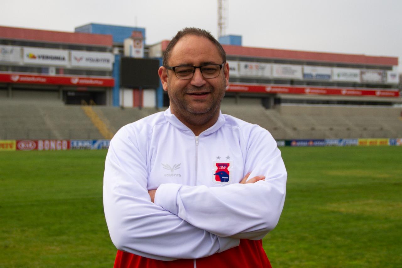 Marcelo Nardi, ex-executivo do Paraná. Foto: Divulgação/Paraná Clube
