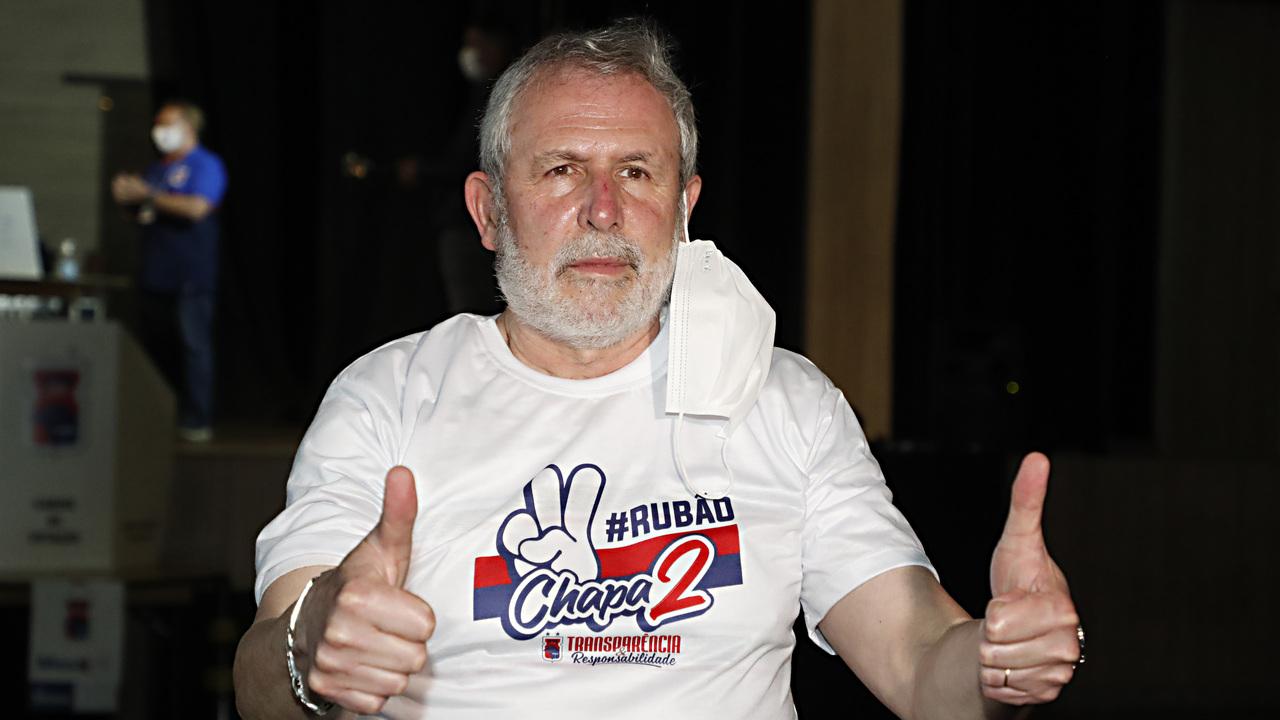 Rubão foi eleito em 9 de agosto com 48,6% dos votos (142 votos).