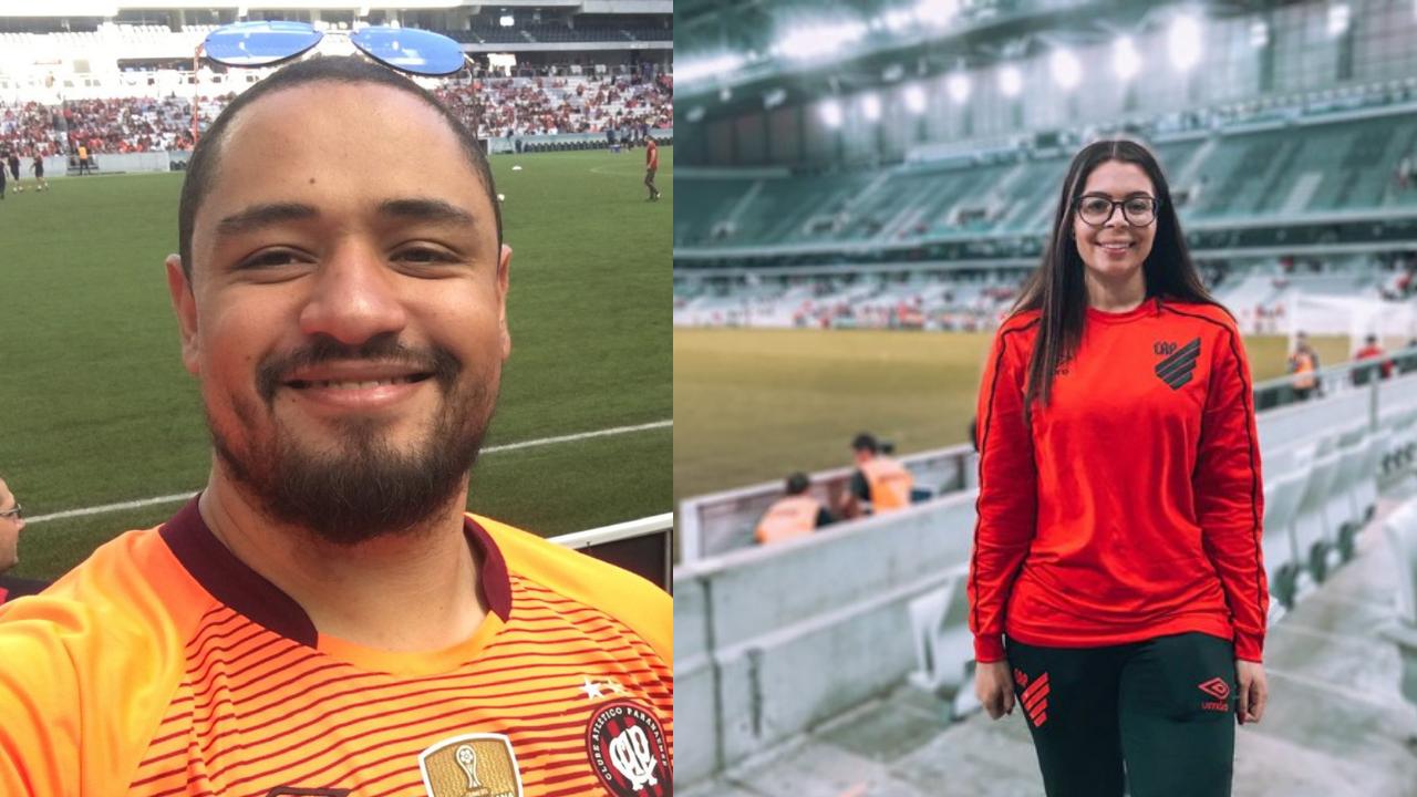 Os atleticanos Douglas Salarindo e Fernanda Araújo se organizam para a volta à Baixada.