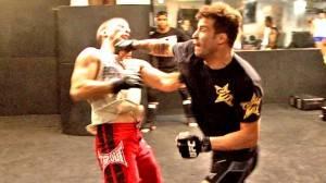 A preparação de Cristiano Marcello para o UFC