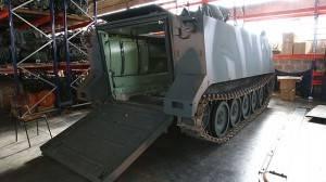 Veja como são reformados os blindados do exército