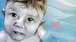 Artista curitibana cria retratos com caneta Bic