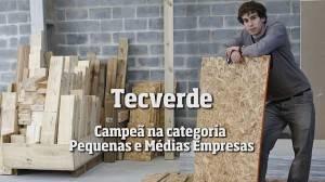 """Tecverde: campeã na categoria """"Pequenas e Médias"""" no Prêmio Bem Feito 2016"""