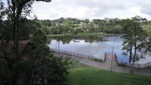 Conheça o parque Lago Azul