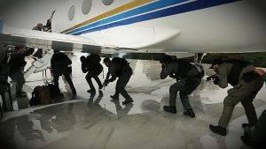 Policiais do grupo antiterrorismo da França treinam agentes do Tigre