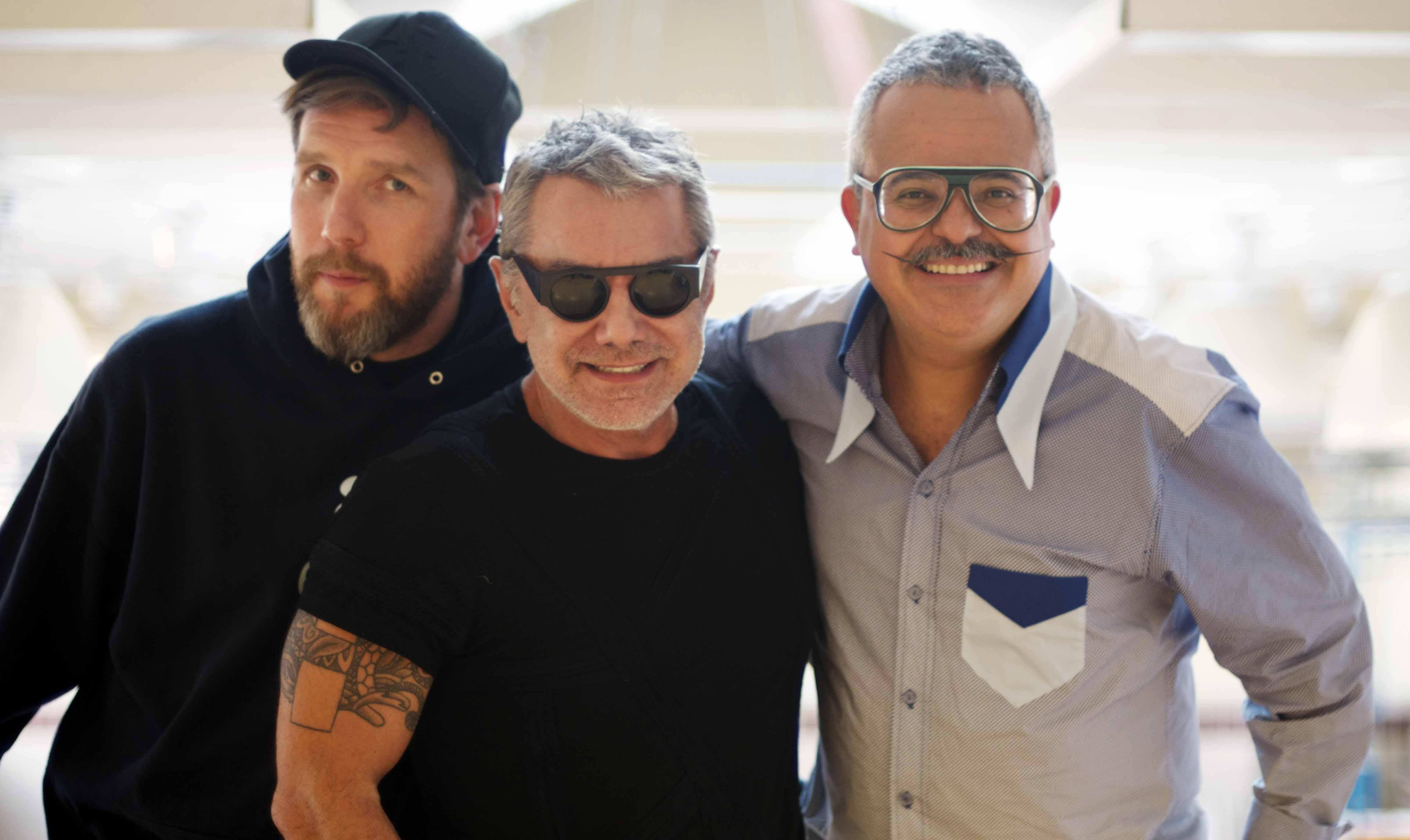Os top estilistas Alexandre Herchcovitch, Lino Villaventura e Ronaldo Fraga acompanham todo o processo. Foto: Divulgação