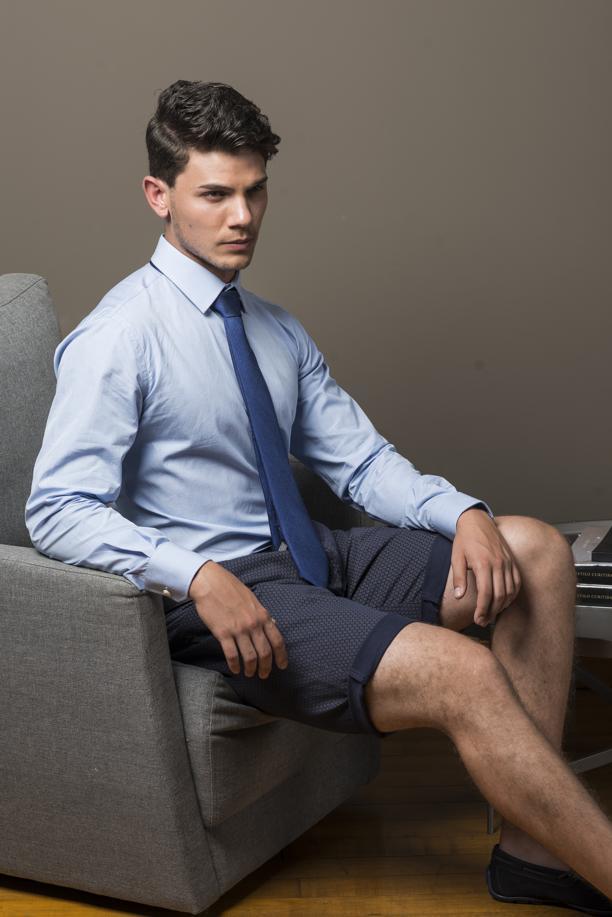Bermudas masculinas que podem ser usadas até no trabalho
