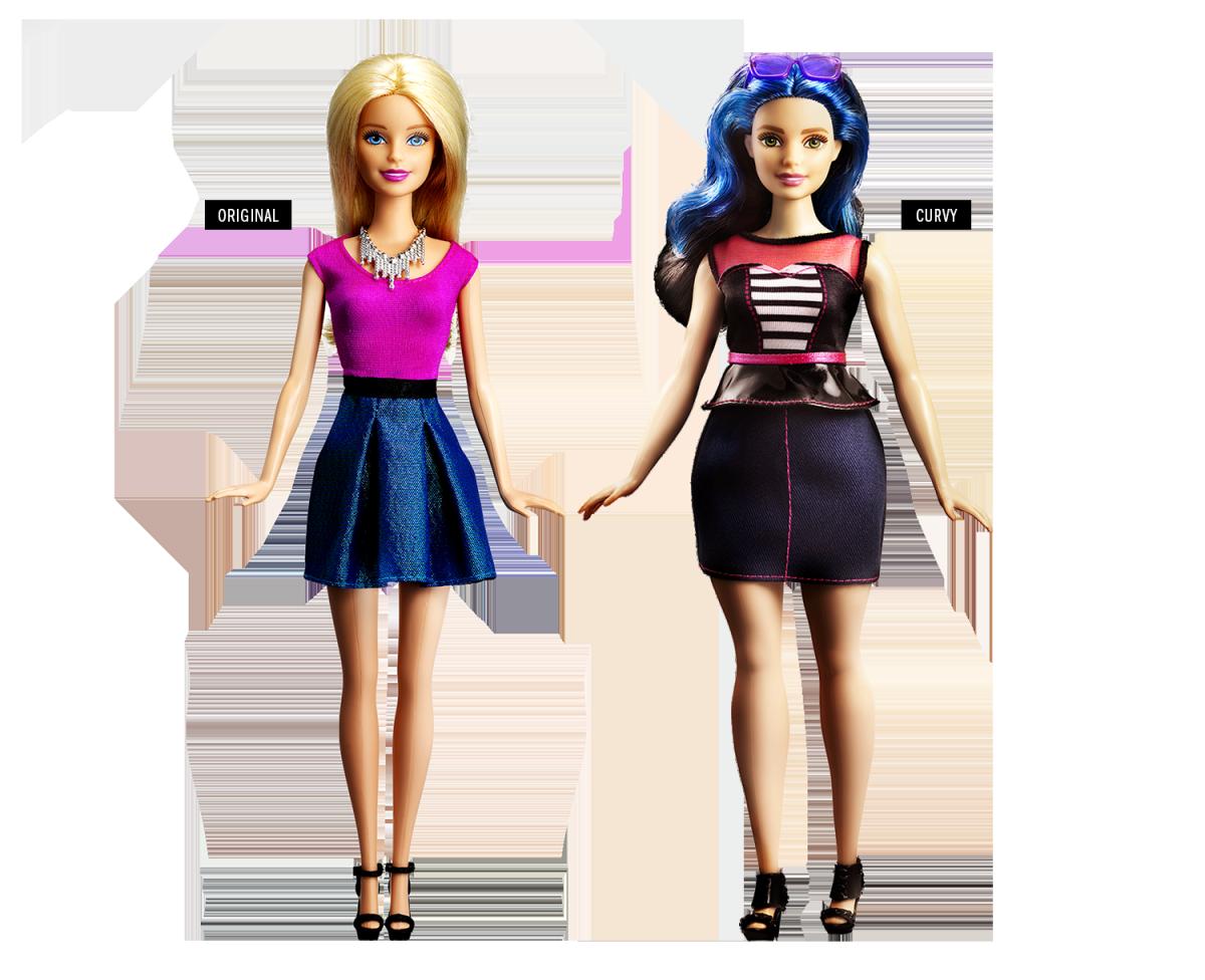 Com novos biotipos e tons de pele a Barbie também parece com você