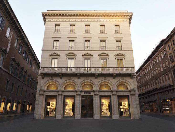 Fendi abre o hotel de luxo mais exclusivo de Roma