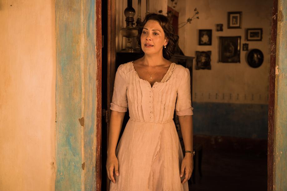 Fabiula Nascimento, que viverá na trama a personagem Eulália. Fotos: divulgação/TV Globo.